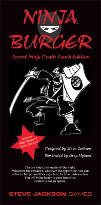 Ninja Burger - Secret Ninja Death Touch Edition