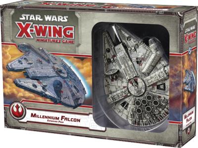 Star Wars: X-Wing Miniaturen-spiel - Millennium Falke Erweiterungs-Pack
