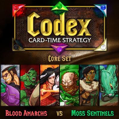 Codex: Card-Time Strategy - Blood Anarchs vs. Moss Sentinels (Core Set)