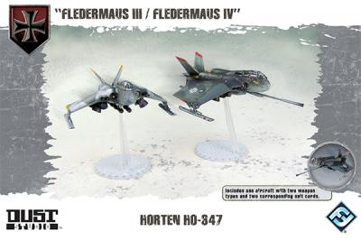 "Dust Tactics: Horten HO-347 - ""Fledermaus III / Fledermaus IV"""