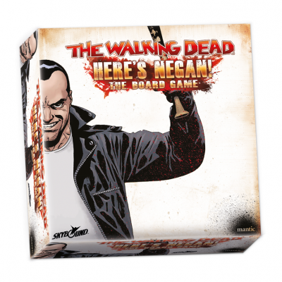 The Walking Dead: Here's Negan the board game