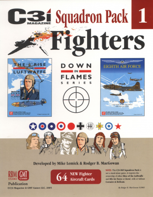 Down in Flames Squadron Pack 1 - Fighters