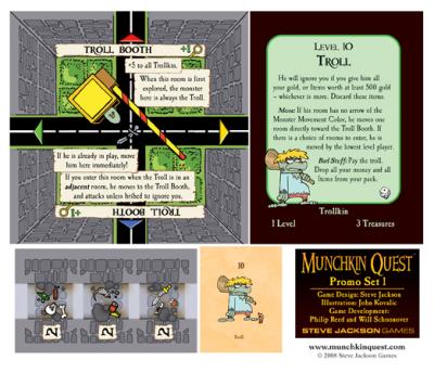 Munchkin Quest Promo Set 1