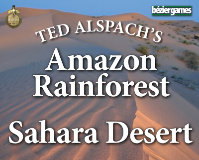Age of Steam Expansion: Amazon Rainforest & Sahara Desert