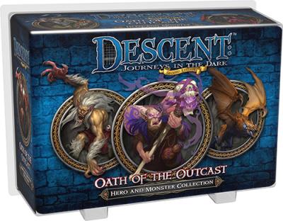 Descent: Journeys in the Dark (Second Edition) – Schwur der Verbannten Helden