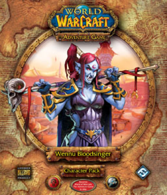 World of Warcraft: The Adventure Game; Wennu Bloodsinger Character Pack