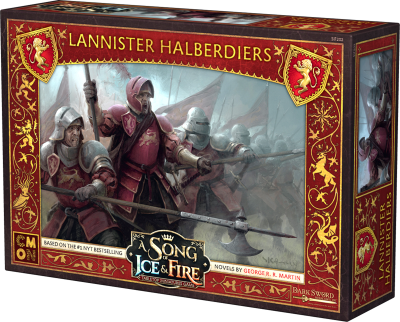 A Song of Ice & Fire: Tabletop Miniatures Game – Lannister Halberdiers