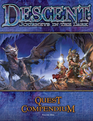 Descent: Journeys in the Dark: Quest Compendium: Volume One