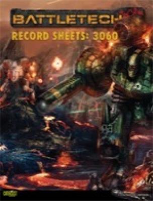 Classic Battletech: Record Sheets – 3060