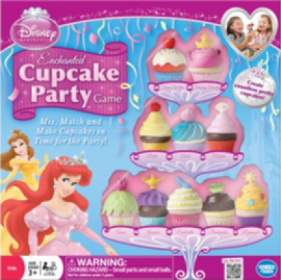 Enchanted Cupcake Party Game