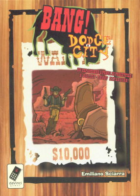 Bang! Dodge City with High Noon expansion