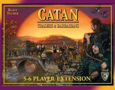 Settlers från Catan: Handelsmän och Barbarer 5-6 Spelare