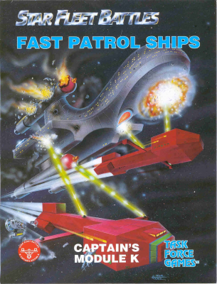 Star Fleet Battles - Module K: Fast Patrol Ships