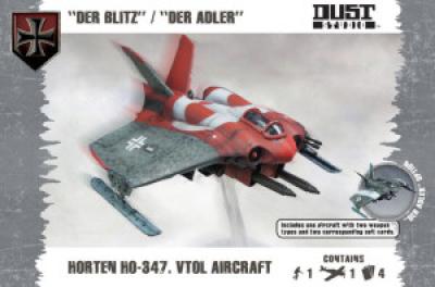 "Dust Tactics: Horten HO-347 – ""Der Blitz"" / ""Der Adler"""