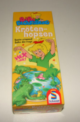 Bibi Blocksberg Hexenprüfung Krötenhopsen