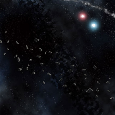 Asteroid Belt Space Mat