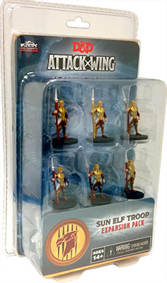 Dungeons & Dragons: Attack Wing – Sun Elf Guard Troop Expansion Pack