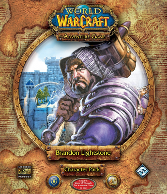 World of Warcraft: The Adventure Game; Brandon Lightstone Character Pack