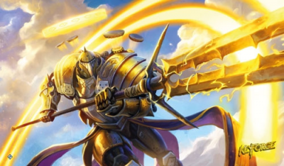 Keyforge: Call of the Archons - Raiding Knight Playmat