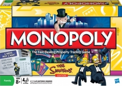 Monopoly: The Simpsons Electronic Banking Edition