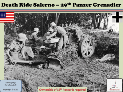 Death Ride Salerno: 29th Panzer Grenadier