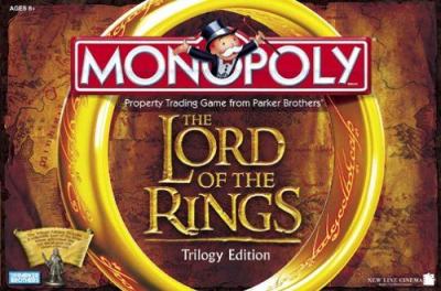 Monopoly: The Lord of the Rings Trilogy Edition