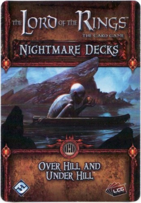The Lord of the Rings: The Card Game – Nightmare Deck: Over Hill and Under Hill
