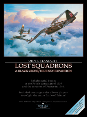Lost Squadrons: A Black Cross/Blue Sky Supplement