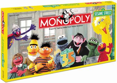 Monopoly: Sesame Street