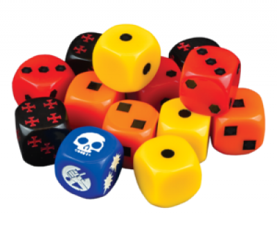 Hellboy: The Board Game - Dice