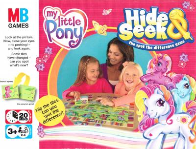 My Little Pony Hide & Seek