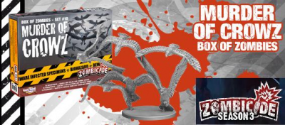 Zombicide Box of Zombies Set #12: Murder of Crowz