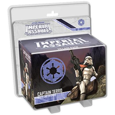 Star Wars Imperial Assault: Captain Terro Villain Pack