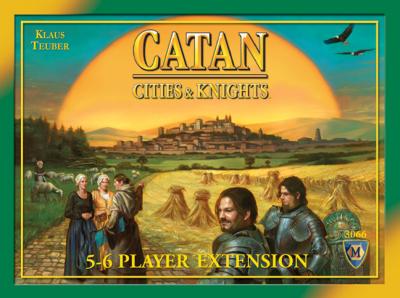 Settlers från Catan: Städer & Riddare 5-6 spelare