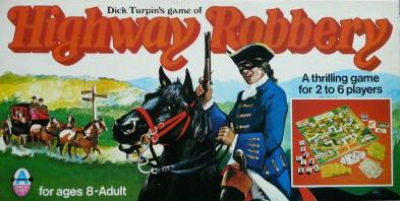 Dick Turpin's game of Highway Robbery