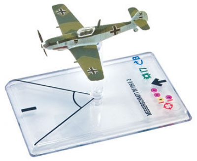 Wings of War: WW2 Airplane Pack - Messerschmitt Bf.109 E-3 (Balthasar)