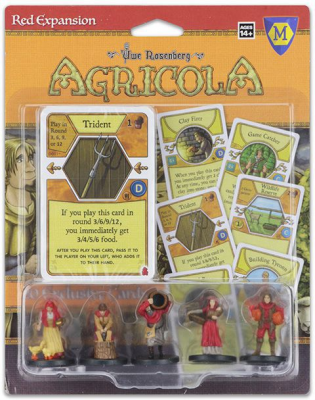Agricola Game Expansion: Red