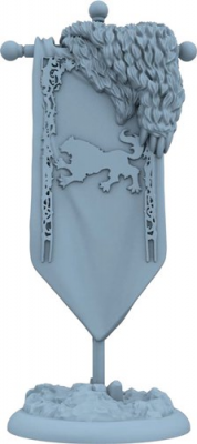 A Song of Ice & Fire: Tabletop Miniatures Game – Stark Deluxe Activation Banner
