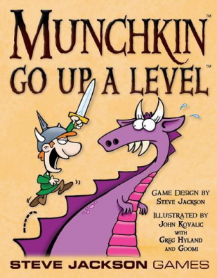 Munchkin: Go Up a Level