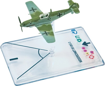 Wings of War: WW2 Airplane Pack - Messerschmitt Bf.109 E-3 (Galland)