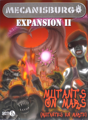 Mecanisburgo Expansion 2: Mutants on Mars