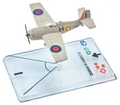 Wings of War: WW2 Airplane Pack - Martlett F4F3 (Black)