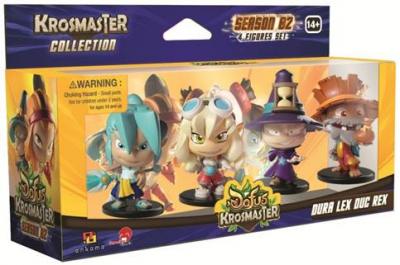 Krosmaster: Arena – Season 2 Dura, Lex, Doug, and Rex Expansion Pack