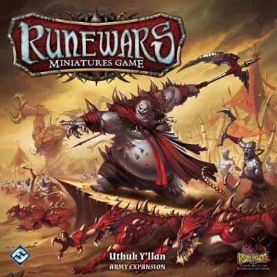 RuneWars: The Miniatures Game - Uthuk Y'llan Army Expansion