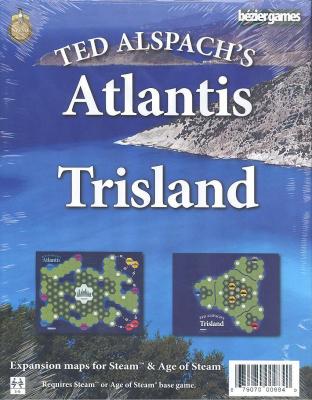 Age of Steam Expansion: Atlantis & Trisland
