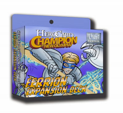 Herocard Champion of New Olympia Ferrion Expansion Deck