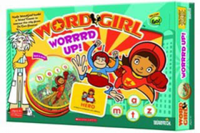 WordGirl Worrrd Up! Game