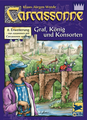 Carcassonne: Count, King & Robber