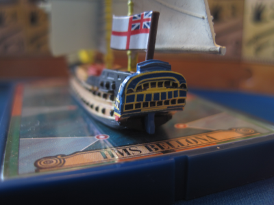 Sails of Glory Ship Pack: HMS Bellona 1760 / HMS Goliath 1781