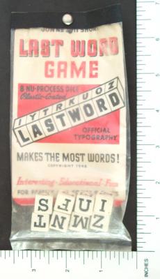 Last Word Game